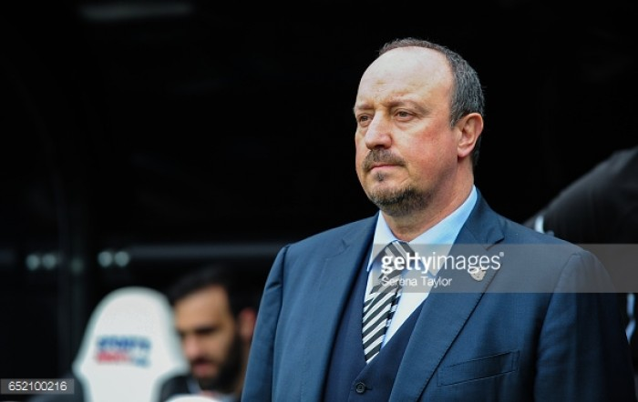 Rafael Benitez takes responsibility for under-performing Newcastle United signings