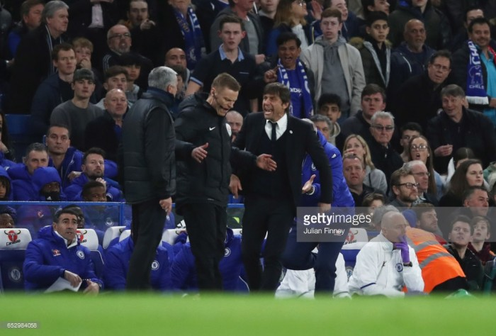 Mourinho views Conte feud with 'contempt'