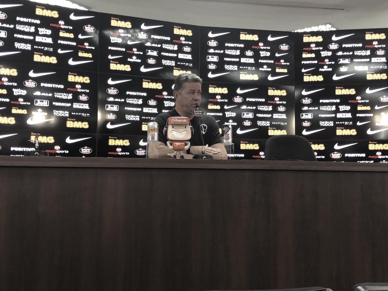 Preparador físico do Corinthians, exalta pausa na Copa América para recuperação dos atletas