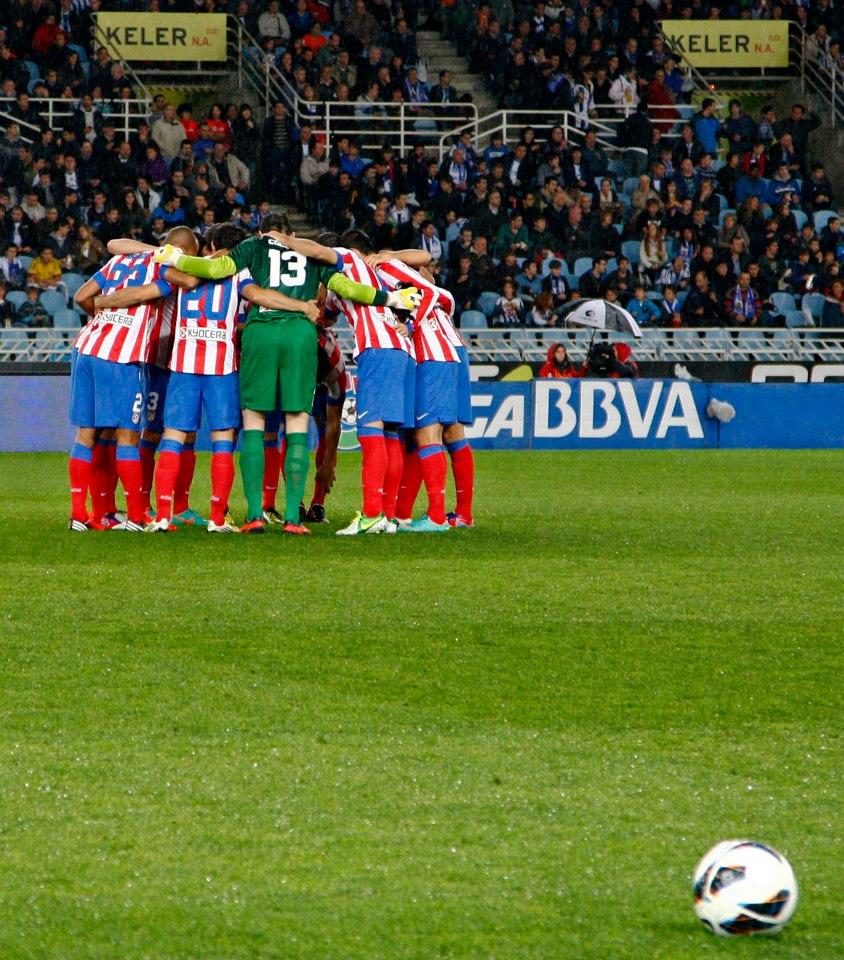 La bocina del Atlético de Madrid