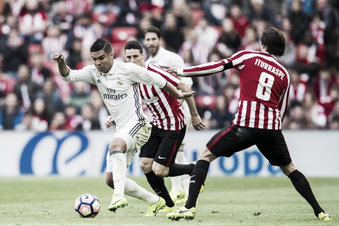 Real Madrid encara Athletic Bilbao na busca da regularidade