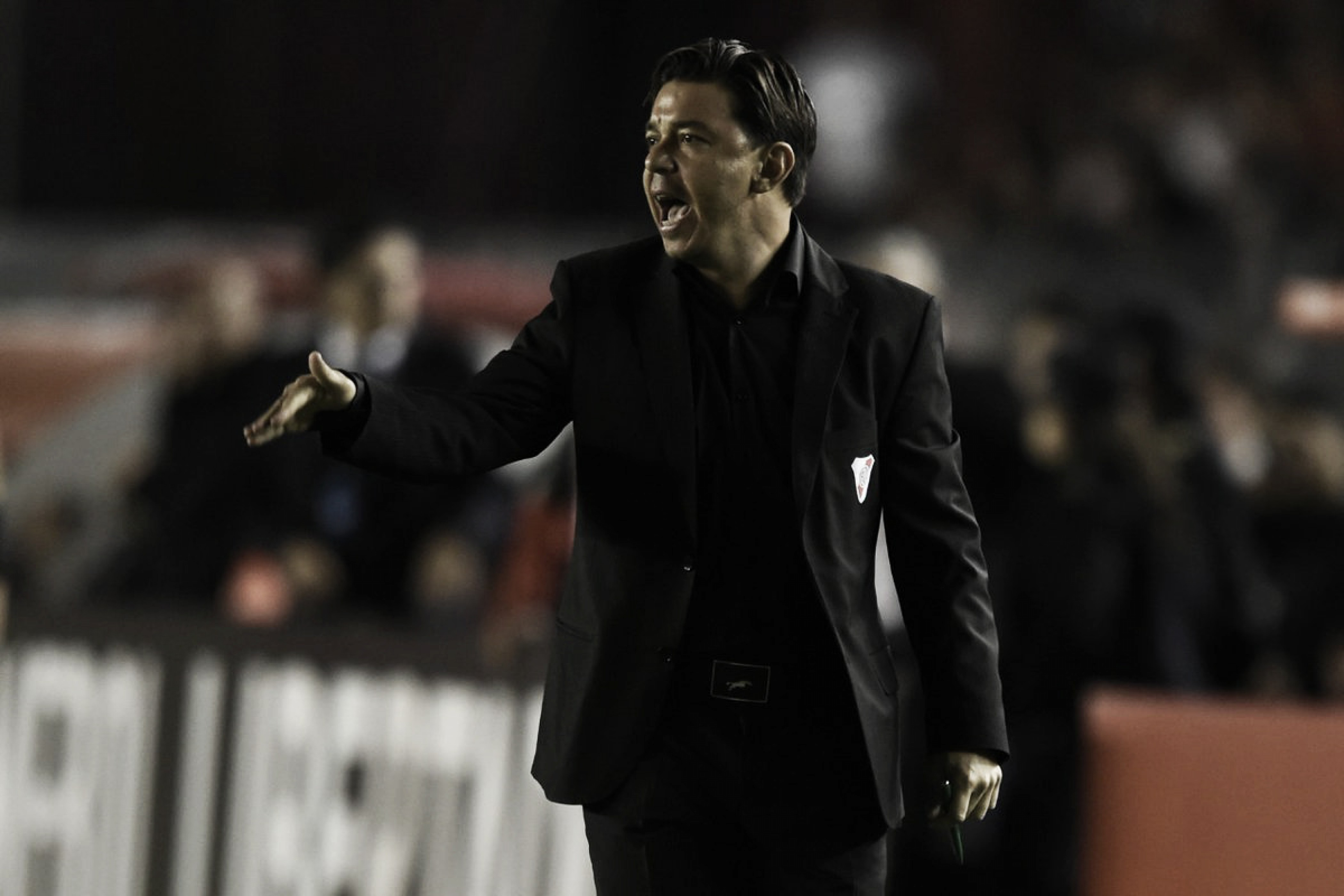 "Gallardo: ""Fue un gran partido de Copa Libertadores"""