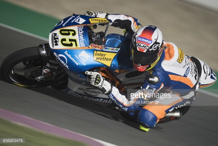 Oettl quickest during first day of Moto3 Free Practice in Qatar