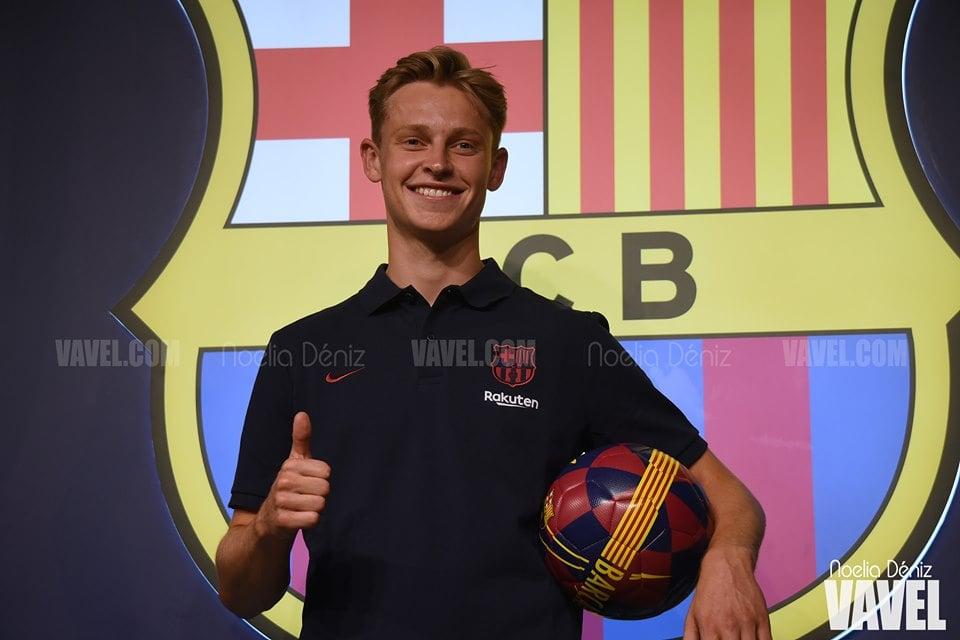 """Frenkie de Jong: """"De niño siempre soñé con jugar en el Barça"""""""