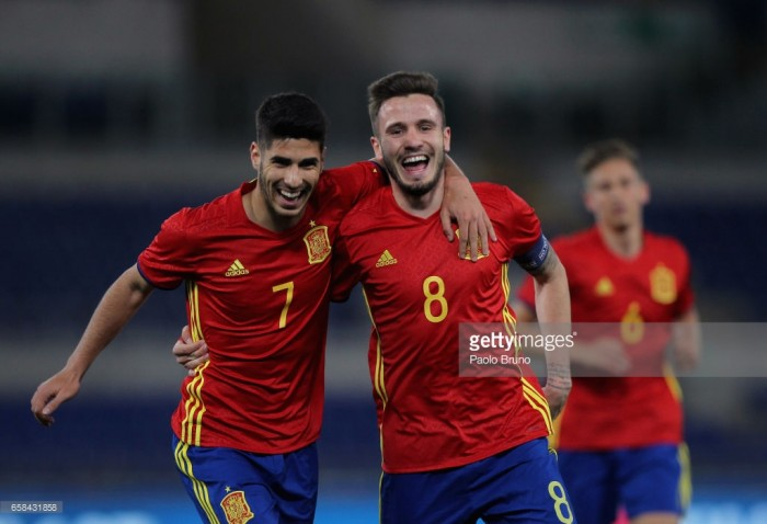 Spain U21 5-0 Macedonia U21: Celedes' side show credentials as Asensio bags three in thrashing