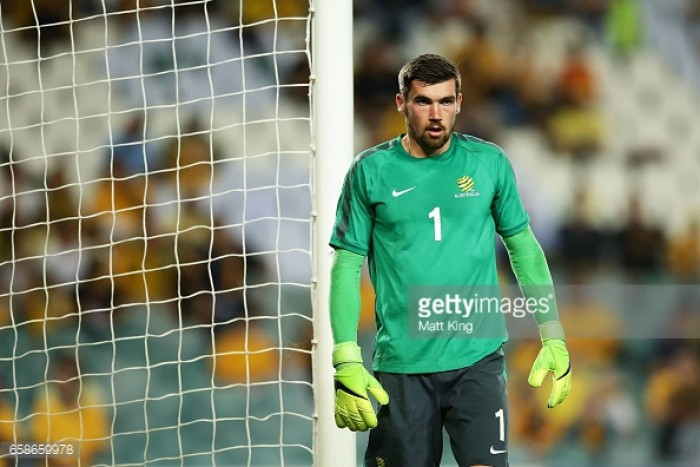 Brighton and Hove Albion sign Australian Goalkeeper Mathew Ryan