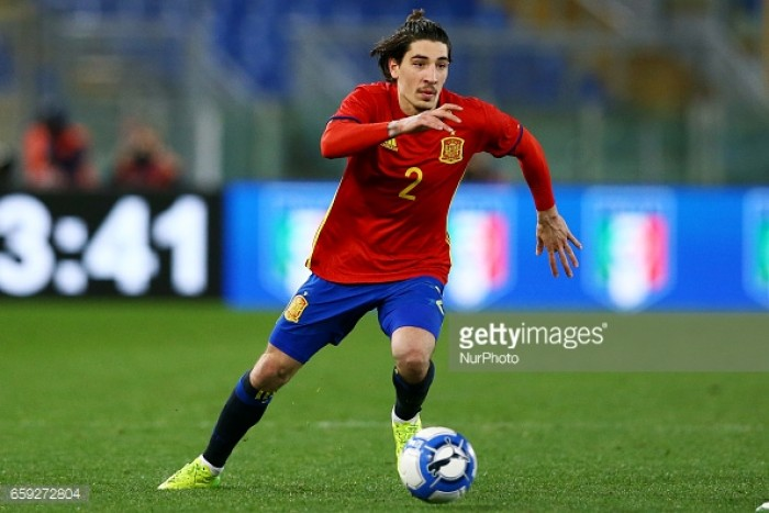 Hector Bellerin questions why Rashford isn't at the U21 Euros