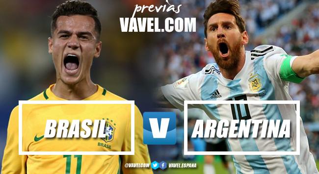 Previa Brasil - Argentina: la hora del Superclásico de las Américas