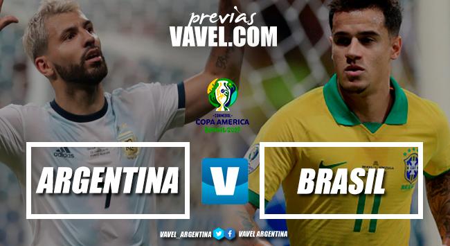 Previa Argentina vs Brasil: el clásico histórico que define al primer finalista