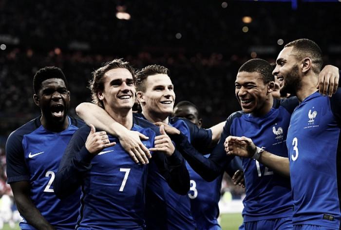 Árbitro assistente de vídeo será testado mais uma vez em amistosos da seleção da França