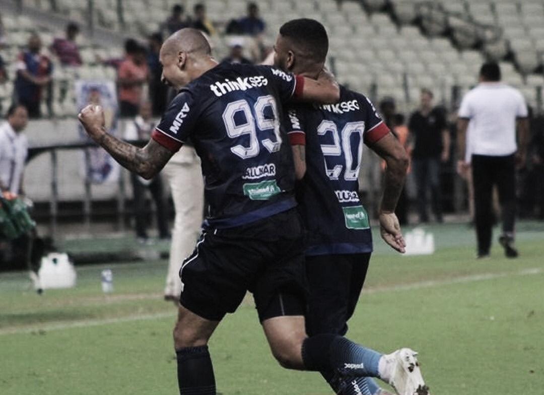 Em jogo nervoso, Fortaleza derrota Santa Cruz e está na final da Copa do Nordeste