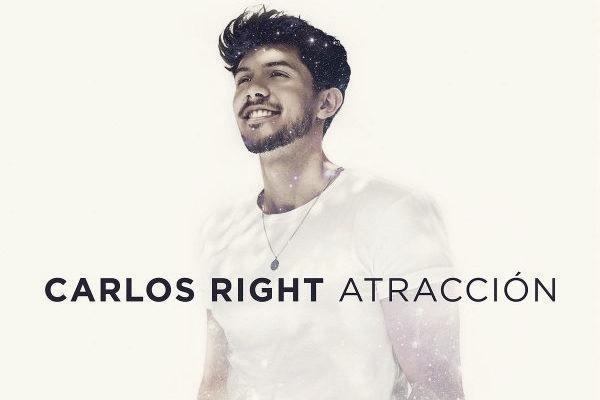 Carlos Right se recorrerá el país con su Tour 'Atracción' que arranca el 3 de octubre en Valencia