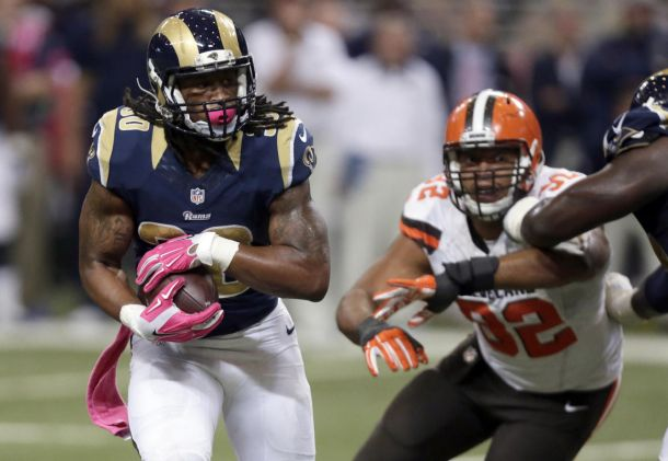 Todd Gurley Wins VAVEL USA Offensive Rookie Of The Week Honors