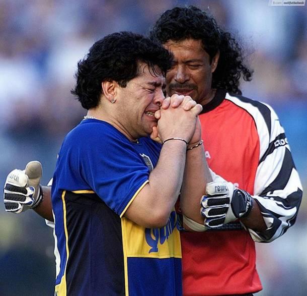 Diego Maradona repartió elogios a los futbolistas colombianos que tocaron suelo argentino