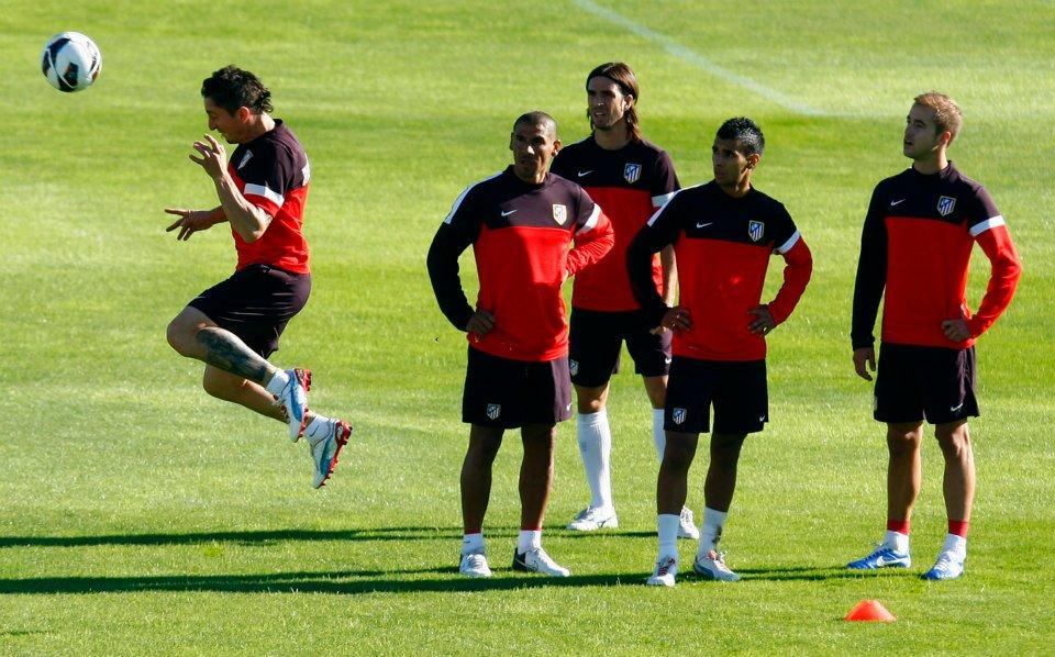 Falcao, Kader y Joel entran en la convocatoria del Atlético de Madrid