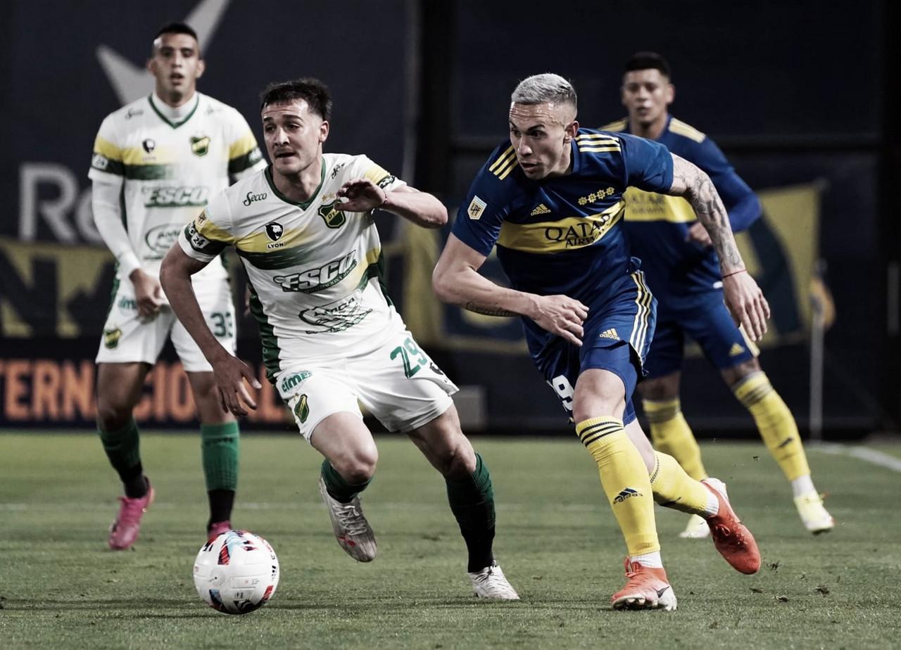 Boca empató 0 a 0 con Defensa y Justicia y quedó lejos de los punteros