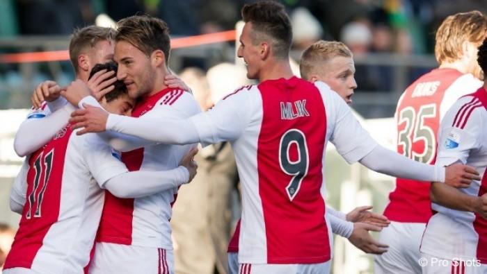 Eredivisie: si allontana il Feyenoord, vince ancora l'Ajax