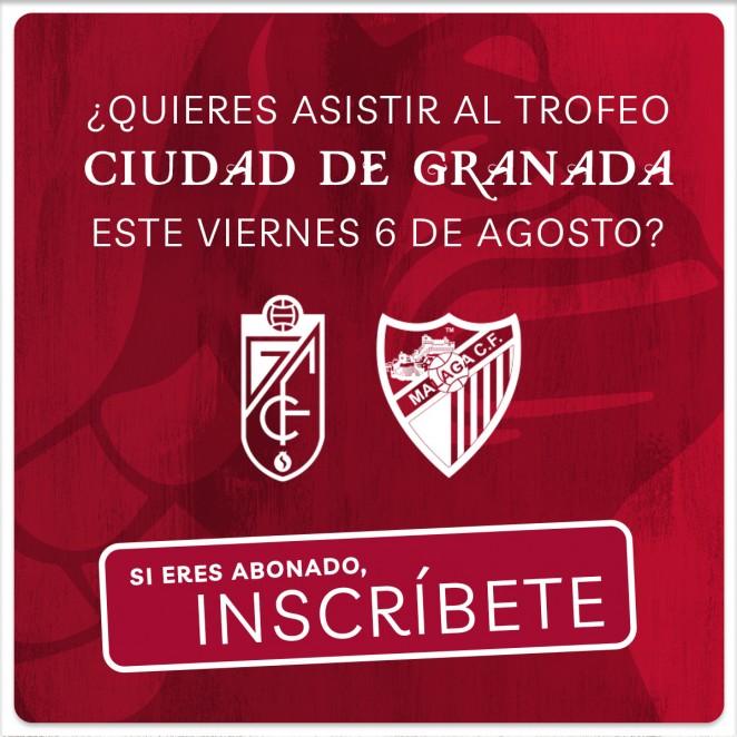 El Granada CF abre el plazo de solicitud de entradas para el Trofeo Ciudad de Granada