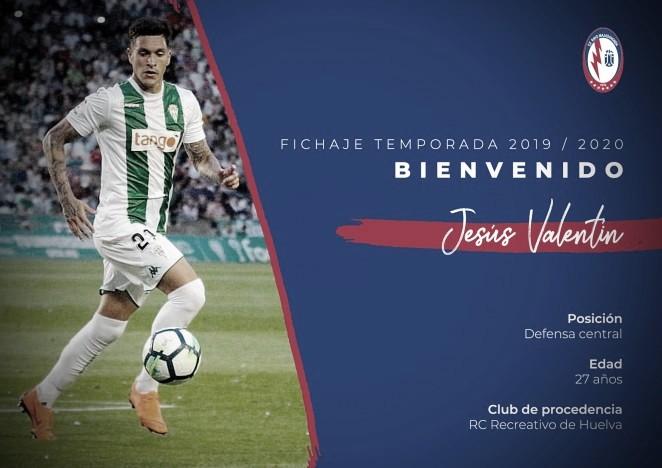 Jesús Valentín, nuevo jugador del CF Rayo Majadahonda