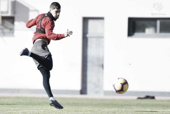 Última sesión de entrenamiento antes de viajar a Valladolid