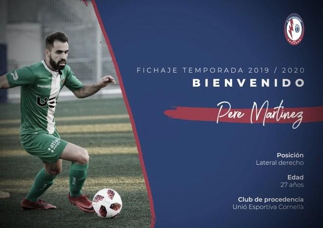 Pere Martínez jugará en el CF Rayo Majadahonda la próxima temporada