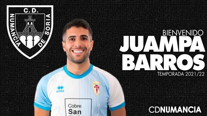 Juampa Barros se convierte en nuevo jugador numantino
