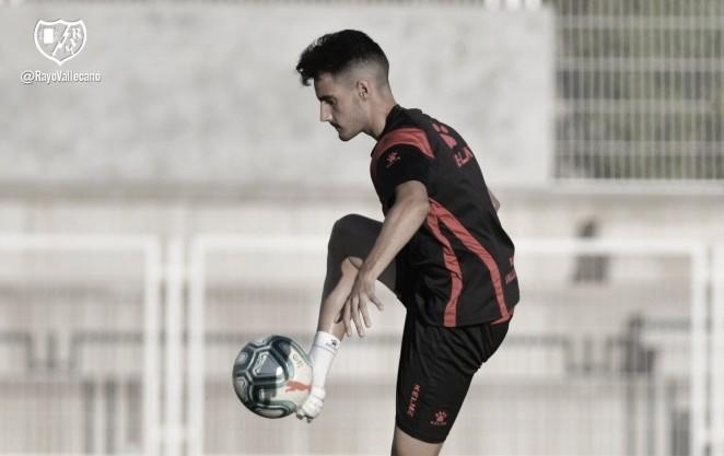 """Óscar Valentín: """"Hemos sumado mucha carga de trabajo para llegar a tope al partido del sábado"""""""