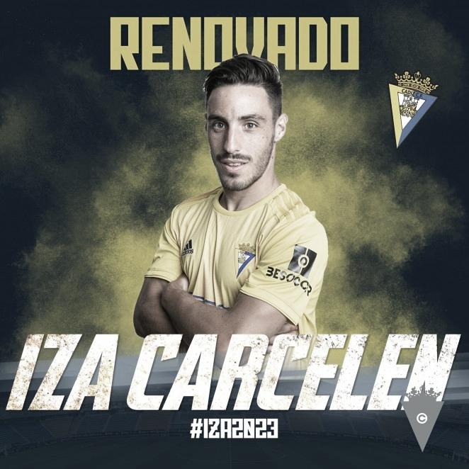 Iza Carcelén renueva hasta 2023