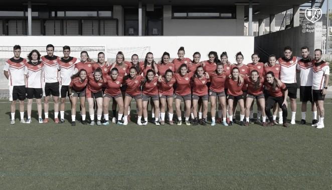 Inicio de la pretemporada del filial femenino del Rayo Vallecano