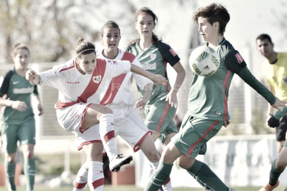 Rayo femenino - Athletic Bilbao: las vallecanas esperan sumar este sábado