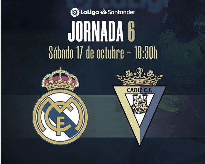 Previa del partido ante el Real Madrid CF // Web Oficial del Cádiz CF
