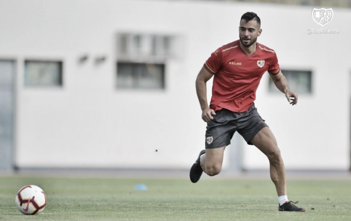 """Jordi Amat: """"Con ganas de volver a pisar Vallecas"""""""