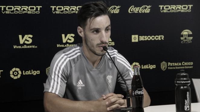 Iza Carcelén en rueda de prensa | Cádiz CF