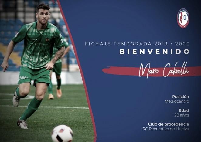 El CF Rayo Majadahonda incorpora a sus filas a Marc Caballé