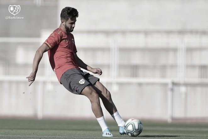 """Andrés Martín: """"Estoy muy contento por el recibimiento del equipo, de los jugadores"""""""