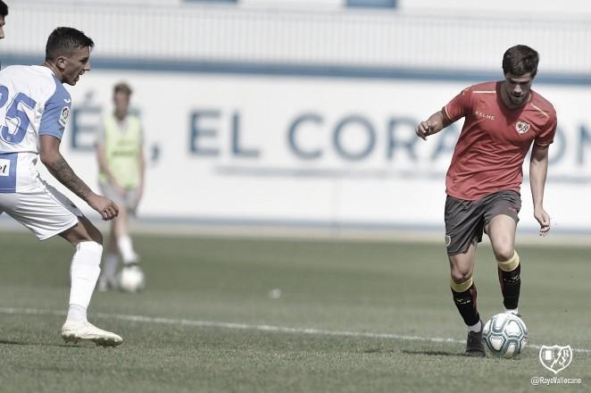 El Rayo juega su primer partido de pretemporada con el uniforme de entrenamiento