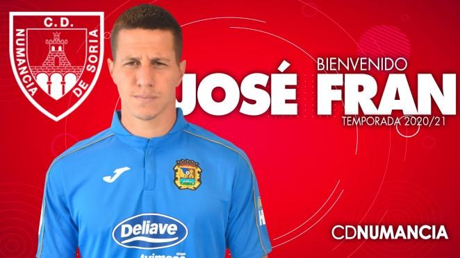 José Fran, decimotercer jugador del Numancia