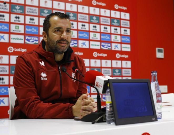 """Diego Martínez: """"No tememos nada, ni en este partido ni en ninguno"""""""