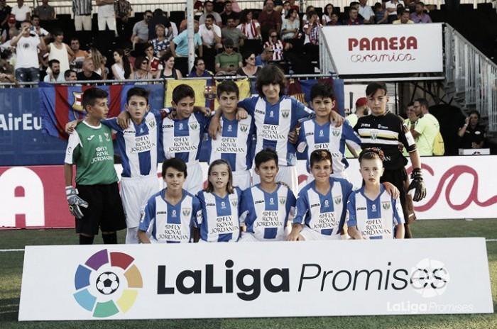 El Leganés se despide de La Liga Promises en la fase de grupos