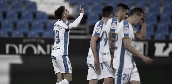 Rober Ibáñez se estrena como goleador en el Leganés