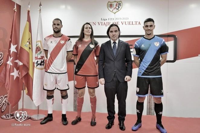 El Rayo Vallecano presenta sus nuevas equipaciones