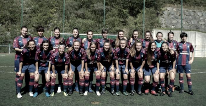 Dos caras nuevas en el equipo femenino del Eibar
