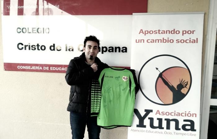 Acuerdo entre la Fundación Rayo Vallecano y la Asociación Yuna