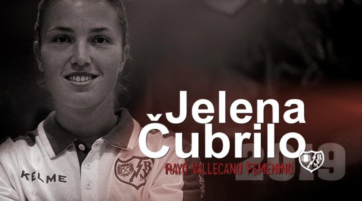 Jelena Cubrilo se une al Rayo Femenino