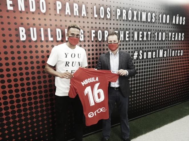 Mboula llega al RCD Mallorca