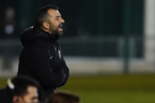"""Diego Martínez: """"Hay un jugador que no se sabe si podrá jugar el domingo"""""""