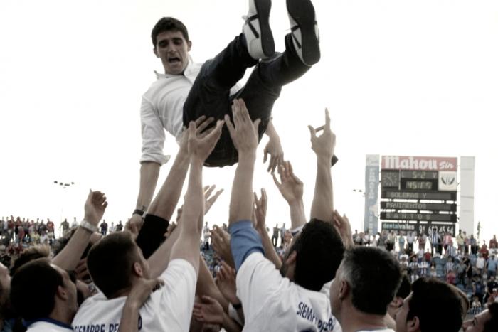 Jugadores entre Leganés y Valladolid