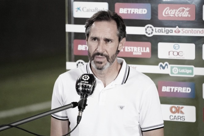 """Vicente Moreno: """"No ha sido nuestro mejor partido"""""""