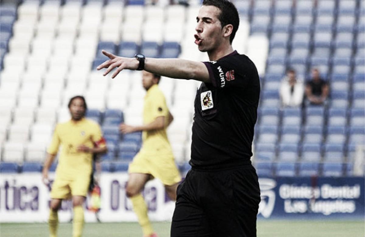 David Pérez Pallas, encargado de dirigir el Barcelona B - Cádiz CF
