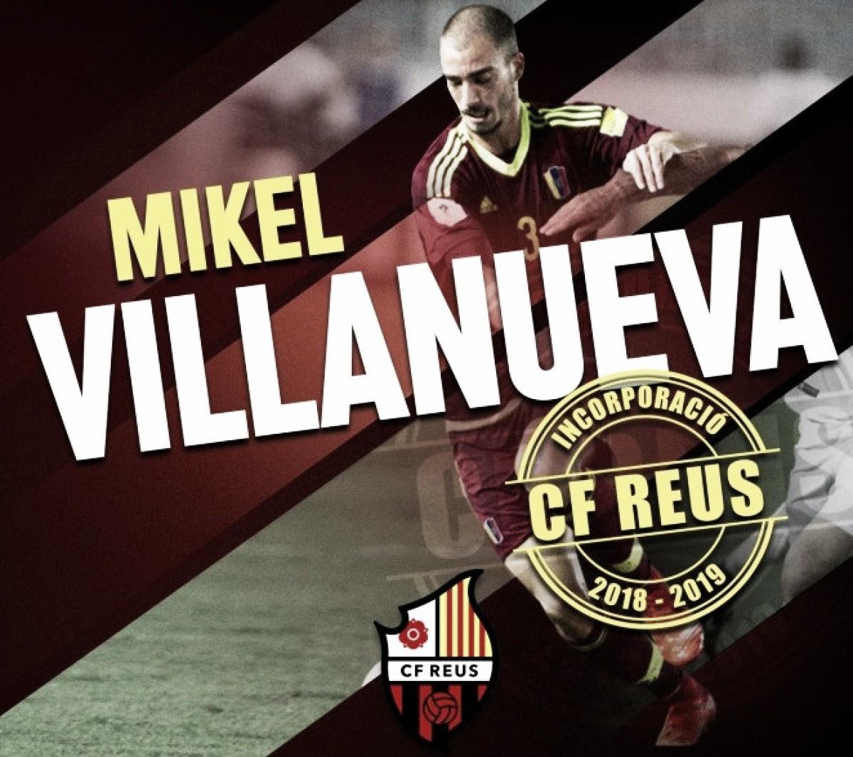 Mikel Villanueva jugará en el Reus